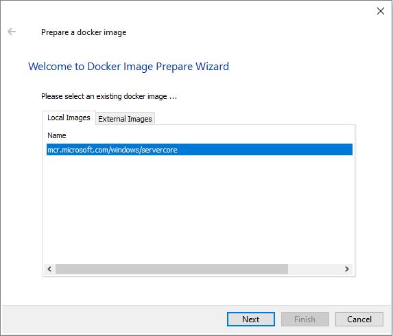 Create a Repackager Docker Image