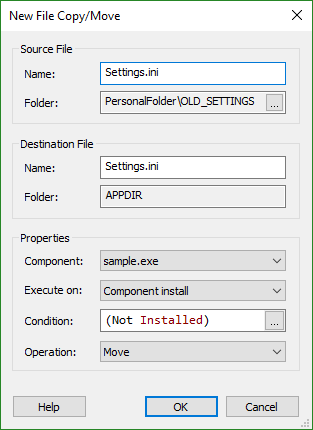 File Copy/Move Dialog
