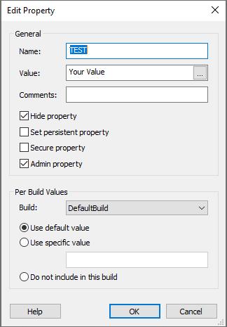 Edit Property