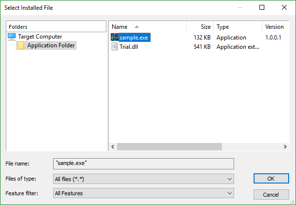 File Picker Dialog