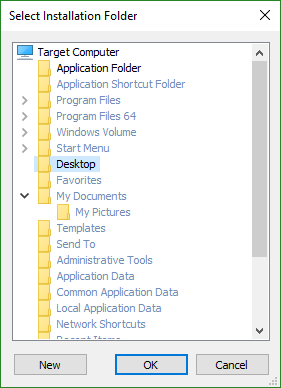 Folder Picker Dialog