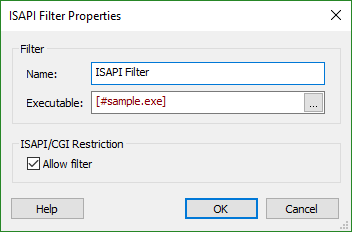 How to write isapi filter references in resume sample
