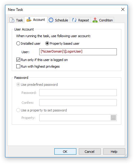 Task Account
