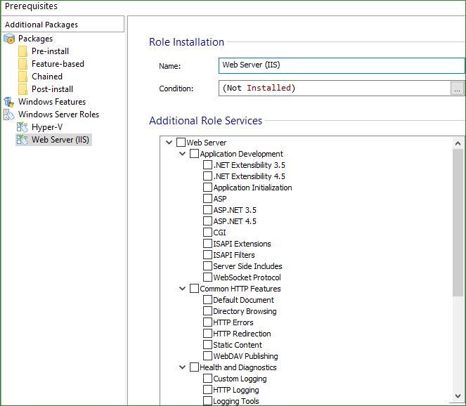 Windows Server Roles