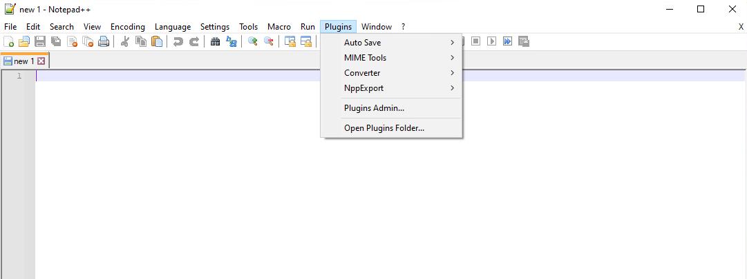 Recognized loaded plugin