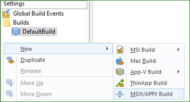 Add Build