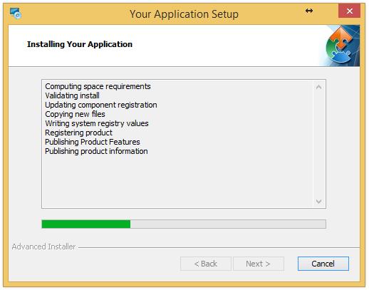 Install-time Summary Log