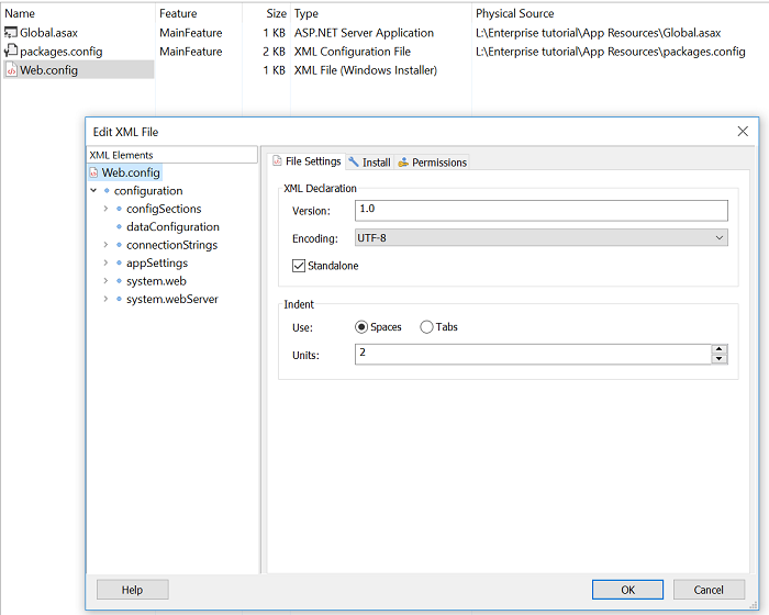 Edit XML File