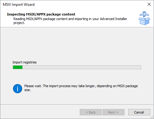 Inspect MSIX package