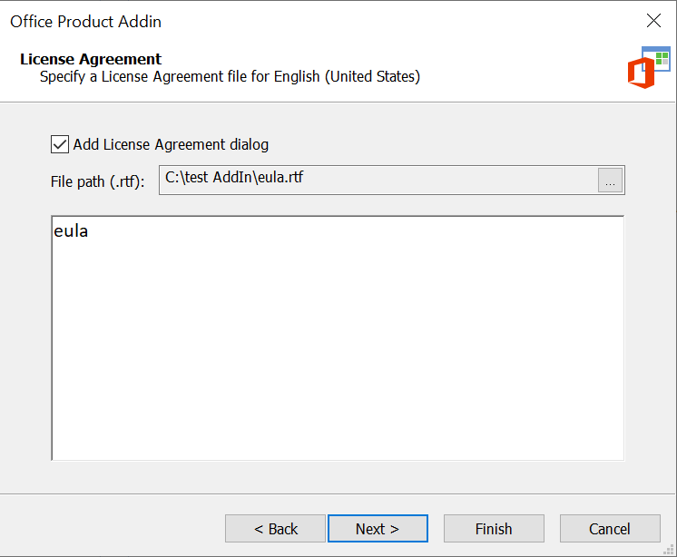 Office Add-In License Agreement