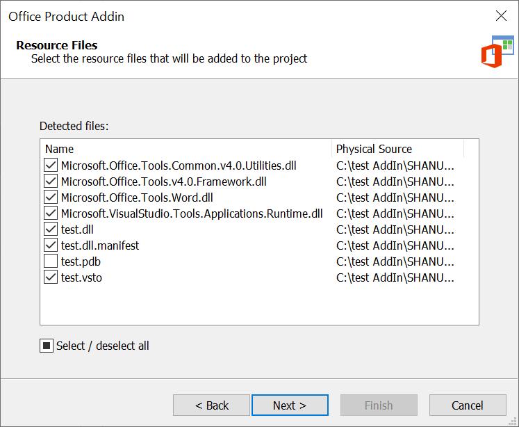 Office Add-In Files