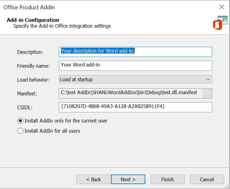 Office Add-In Integration
