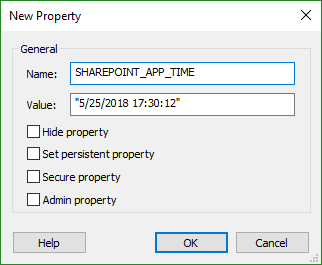 Set deployment time and date