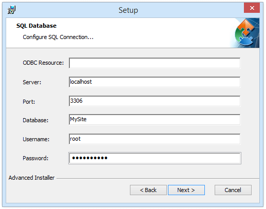 Configuring Databases with SQL Scripts