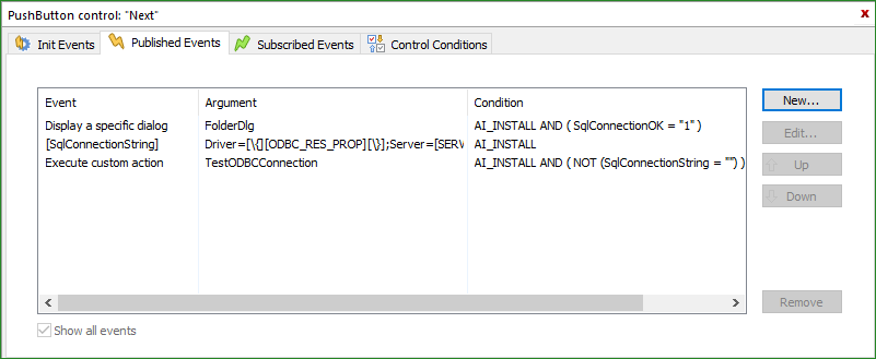 How to test SQL connection parameters