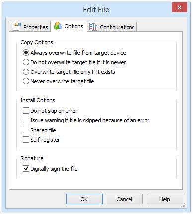 Individual File Signing